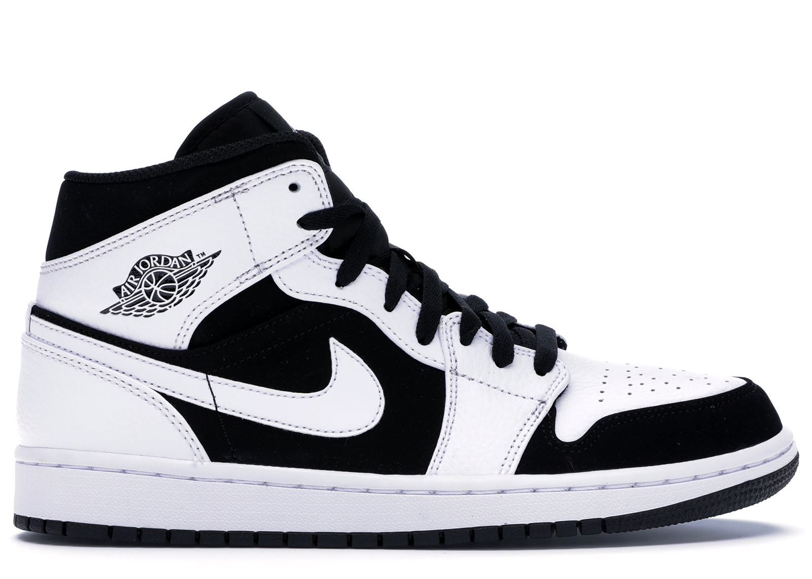 air jordan black and white 1